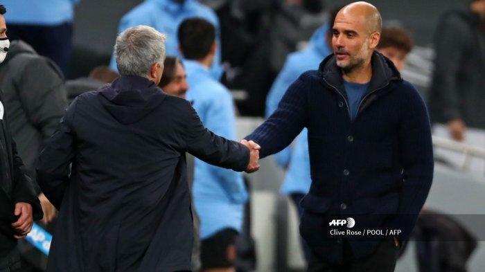 Hasil Liga Inggris: Manchester City Dikalahkan Tottenham Hotspur, Guardiola Puji Startegi Mourinho
