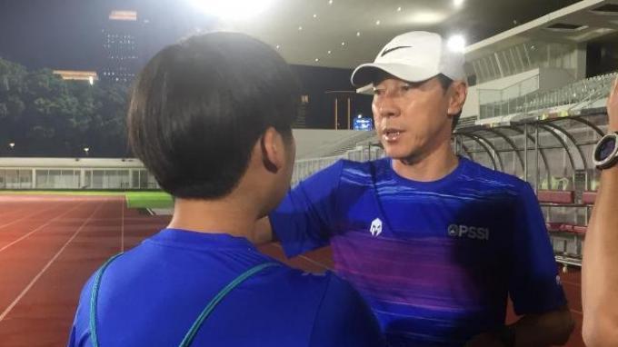 Soal Rencana Potong Gaji Pelatih Timnas Indonesia, Shin Tae-yong Belum Dapat Informasi dari PSSI