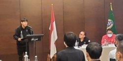 Bakar Semangat Timnas Indonesia, Shin Tae-yong: Striker Kalau Perlu Turun Bertahan