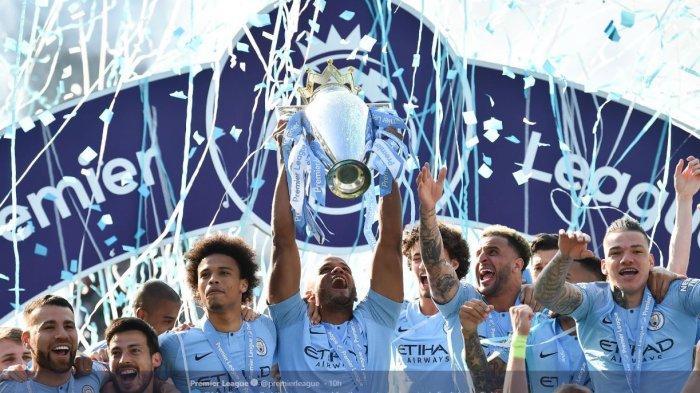 Manchester City juara Liga Inggris.
