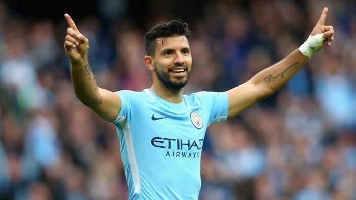 Penyerang Manchester City, Sergio Aguero Adalah Sosok Pengembara Cinta  Wanita - Tribunnews.com Mobile