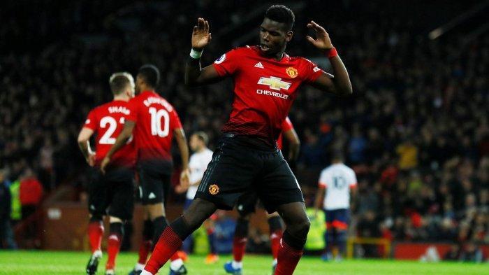 Manchester United Vs Bournemouth, 2 Gol Paul Pogba Beri Kemenangan Setan Merah Diakhir Tahun 2018