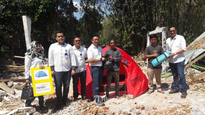 Mandiri Tunas Finance Penuhi Kebutuhan Korban Gempa Dan Siap Mendukung Pemulihan Ekonomi Lombok