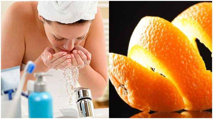 Manfaat kulit jeruk untuk kulit wajah.