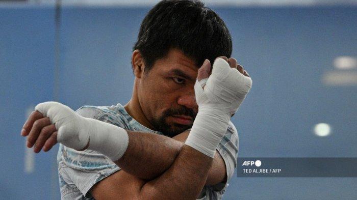Jadwal Tinju Dunia: Manny Pacquiao Naik Ring Lagi, Jumpa Yordenis Ugas Akhir Pekan Ini