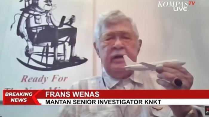 Mantan investigator KNKT, Frans Wenas mengungkap alasan kecelakaan pesawat di awal tahun.