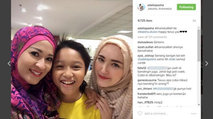 Membandingkan Istri dan Mantan Istri Pasha Ungu yang Akur Foto Bareng, Netizen Ini Panen Bully
