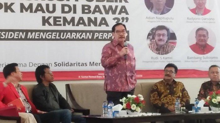 Antasari Azhar Usul Presiden Buat Tim Daftar Inventaris Masalah Jika Jokowi Keluarkan Perppu KPK