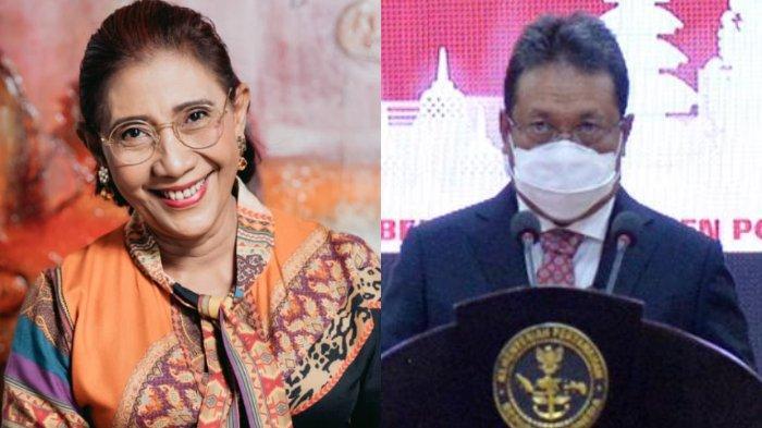 Susi Pudjiastuti Ucapkan Selamat untuk Menteri KKP Baru: Mas Trenggono, Semoga Amanah