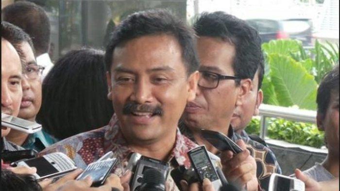 Mantan Menteri Pemuda dan Olahraga Andi Mallarangeng yang juga politikus Partai Demokrat.