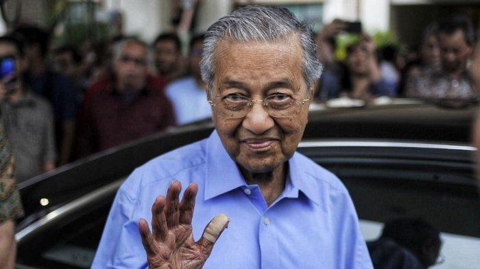 Mantan Perdana Menteri Malaysia, Tun Dr Mahathir Mohamad