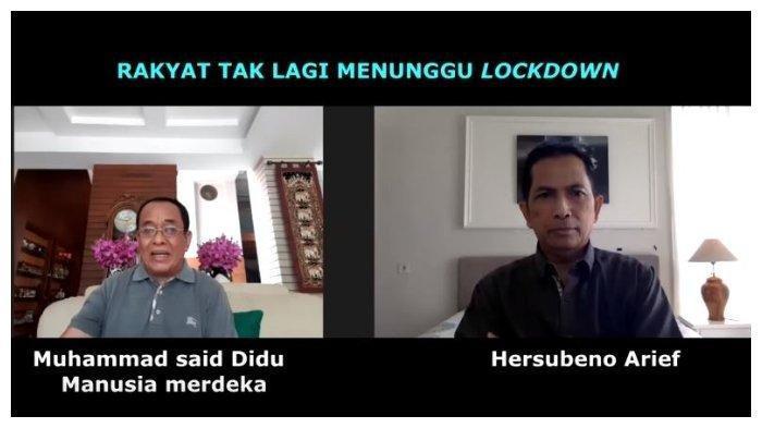 Ibaratkan Pemerintah bak Orang akan Tenggelam, Said Didu: 2 Minggu Hanya Dapat Istilah Lain Lockdown