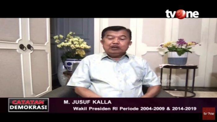 Mantan wakil presiden Jusuf Kalla meminta sumbangan Rp 2 triliun dihentikan