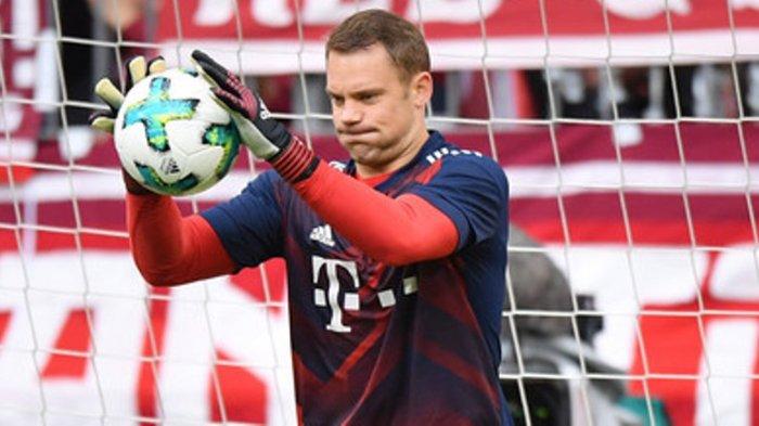 LINK Live Streaming Bayern Munchen vs Schalke Bundesliga, Laga ke-250 Manuel Neuer
