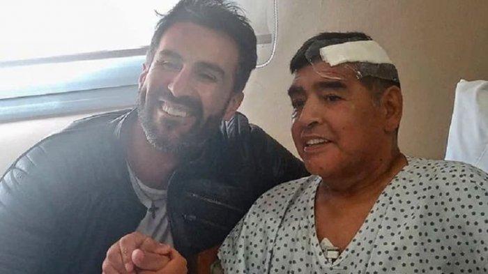 Maradona dan dokternya 87324