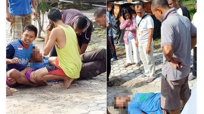 Duel Marbot Dengan Pencuri Uang di Kotak Infaq di Pekanbaru, Bergelut Seperti Smack Down