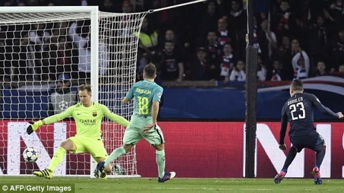 Paris Saint Germain Bantai Barcelona 4-0