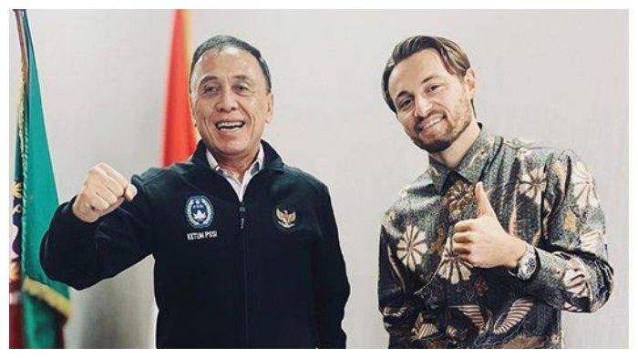 Gelandang Persija Marc Klok Bocorkan Surat dari Presiden Jokowi, Resmi Jadi WNI?