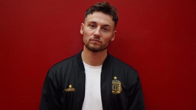 Marc Klok saat diperkenalkan menjadi pemain baru Persija Jakarta, Jumat (31/1/2020).