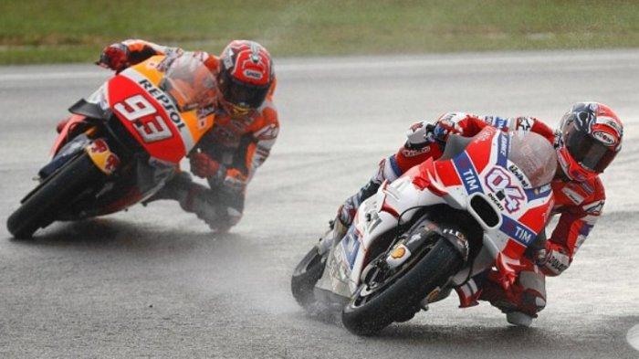 Marc Marquez dan Andrea Dovizioso Punya Peluang Juara yang Sama kata Loris Reggiani