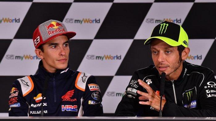 Statistik Buktikan Marc Marquez Ungguli Valentino Rossi Jadi Pebalap Terbaik di Dunia