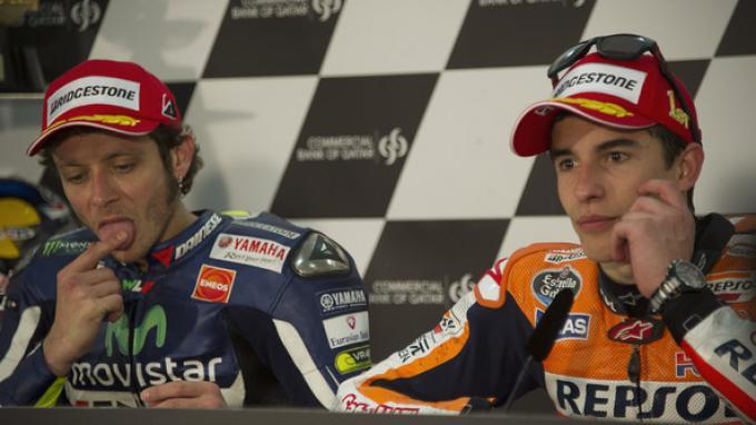 Sindiran Menohok Marc Marquez ke Valentino Rossi: Kalau Saya Tak Bisa Lagi Menang, Ya Pensiun