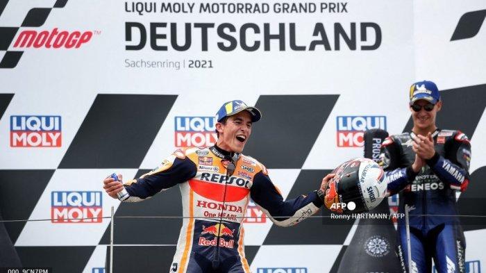 Jadwal MotoGP 2021 Lengkap, Live Trans7 - Quartararo Mesti Hati-hati, Marquez Baru Mulai Beraksi