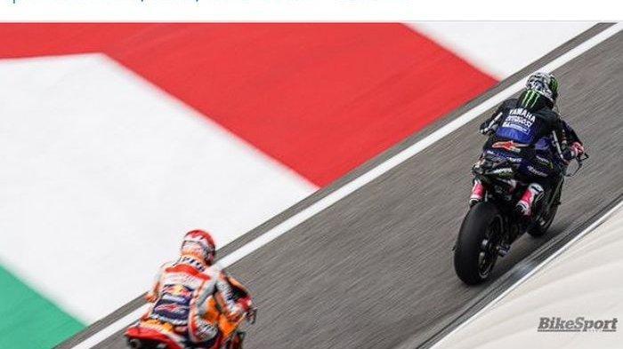Soal Taktik Marc Marquez Mengekor Maverick Vinales, Adik Valentino Rossi: Dia Usil