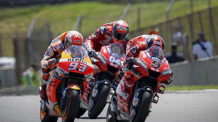 Marc Marquez mampu meladeni pasukan Ducati di MotoGP Italia 2019 yang memanjakan trek lurus nan panjang