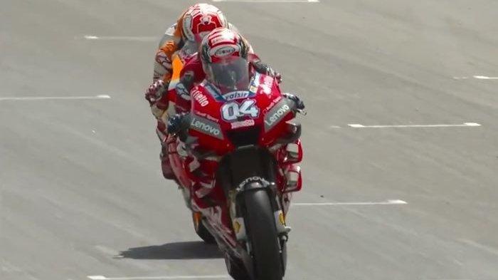 Andea Dovizioso Optimis Mampu Goyang Dominasi Marc Marquez di MotoGP 2020