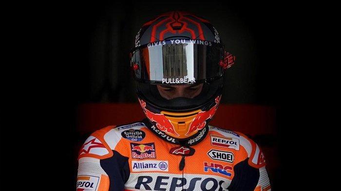 Jadwal MotoGP Qatar 2021 Live Trans7 - Jangan Harap Marc Marquez Ikuti Tes Pramusim & Seri Perdana