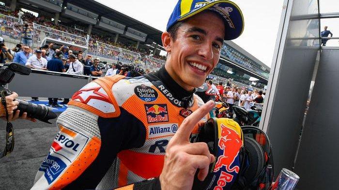 Marc Marquez podium dua di MotoGP Austria 2019