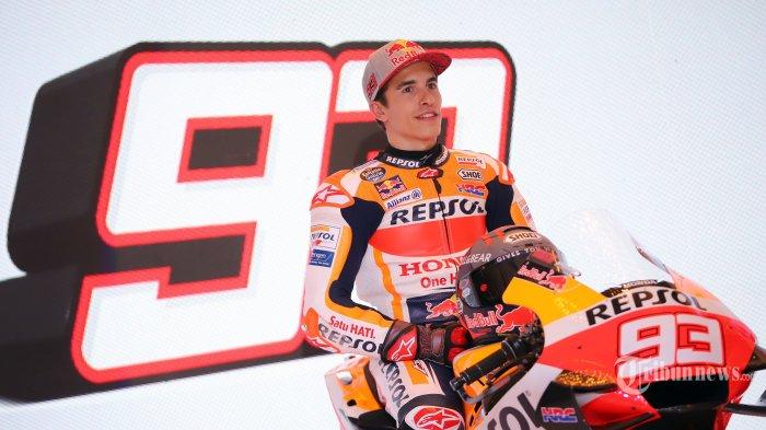 Jadwal MotoGP 2021 - Ungkapan Ayah Lorenzo, Marc Marquez Bisa Cetak Sejarah di MotoGP
