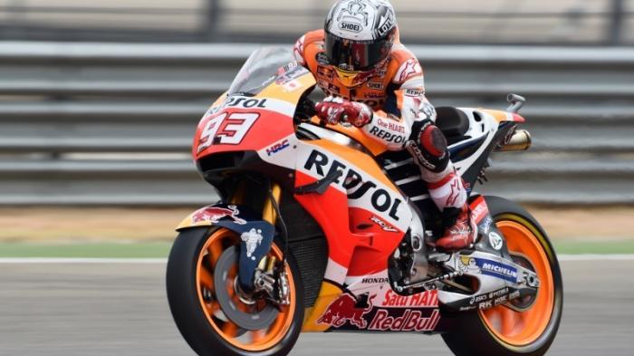 Gagal di Sepang, Marc Marquez Sebenarnya Yakin Lewati Valentino Rossi