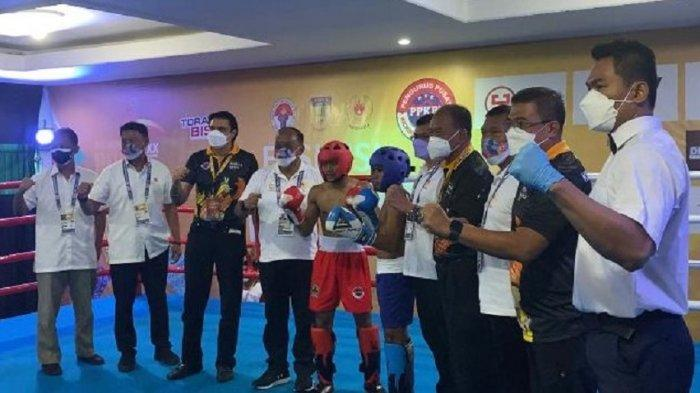 Eksebisi Kickboxing Resmi Digelar di PON XX Papua 2020