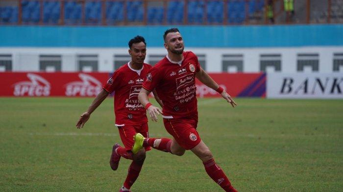 Marco Simic Persija vs Borneo FC