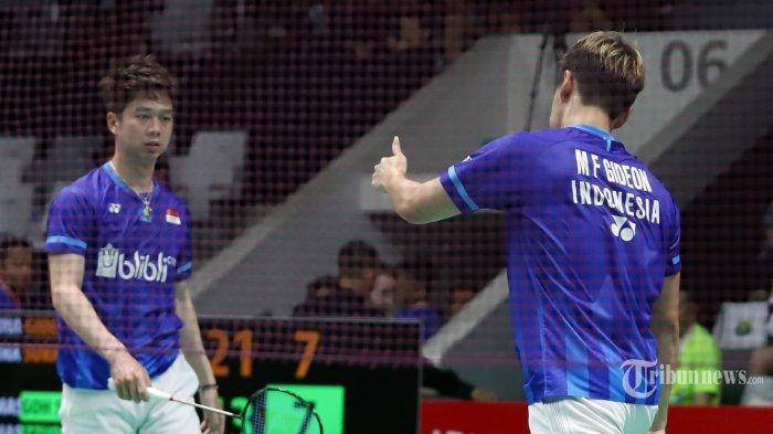 Live Streaming TV Online TVRI, Final All England 2020, Marcus/Kevin vs Endo/Watanabe Sesaat Lagi