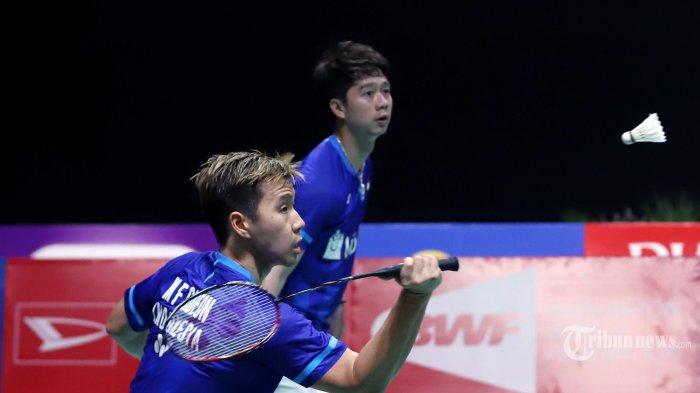 Kejuaraan Beregu Asia 2020 - Indonesia vs Malaysia di Final, Marcus/Kevin Harap Rekannya Waspada