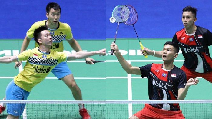 Prediksi hasil semifinal China Open 2019, Sabtu (21/9/2019): Hadapi Marcus/Kevin demi rebutkan tiket menuju final, Fajar/Rian: Kami siap saja.