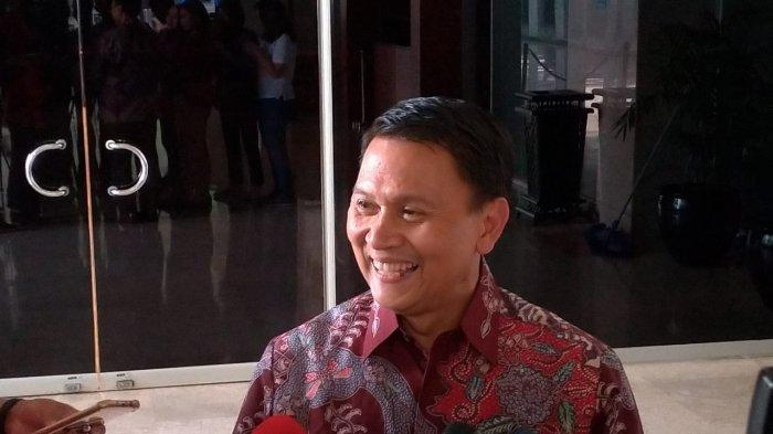 Mardani Ali Sera di Kompleks Parlemen, Senayan, Jakarta, Selasa (2/7/2019).