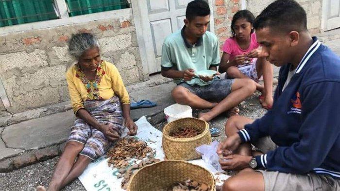 Anaknya Sukses Jadi Bupati, Ibu Asal NTT Ini Tetap Hidup Sederhana Dengan Jualan Sayur