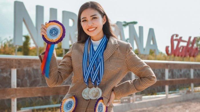 Margenie Sabet Tiga Medali di Nirwana Show 2021