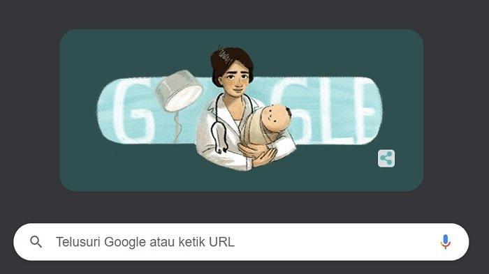 Tampilan Google Doodle Hari Ini: Marie Thomas, Dokter Wanita Pertama di Indonesia
