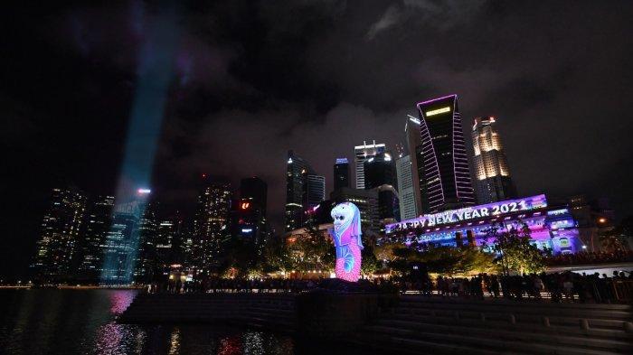 Marina Bay Singapore Countdown 2021 nih