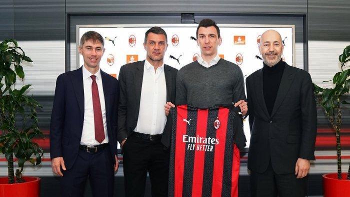 Prediksi AC Milan vs Atalanta, Liga Italia, Stefano Pioli Singgung Peluang Mandzukic Tampil