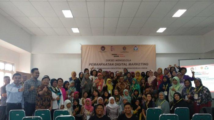 GNRM Mendorong Digital Marketing Wirausaha Perempuan Yogyakarta