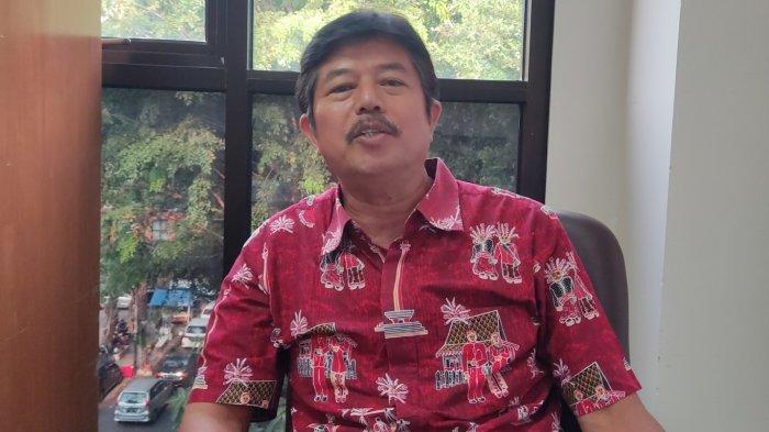 Kepala Bidang Humas KONI DKI Jakarta, Markon Piliang saat ditemui tribunnews.com di kantornya, Kamis (2/9/2021)/Lusius Genik