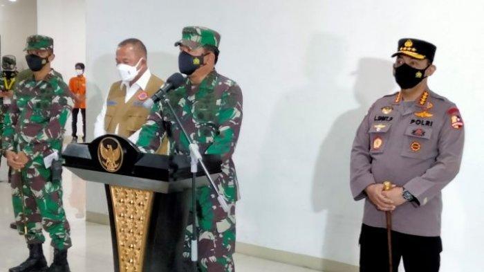 Panglima TNI dan Kapolri Cek Kondisi Nakes, Tekankan Evaluasi Berkala RSDC Wisma Atlet Kemayoran