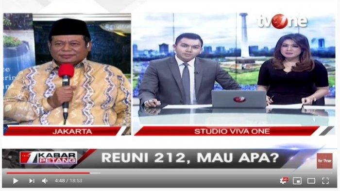 Soal Reuni Akbar 212, MUI Nilai sebagai Hak Berdemokrasi Setiap Warga Negara