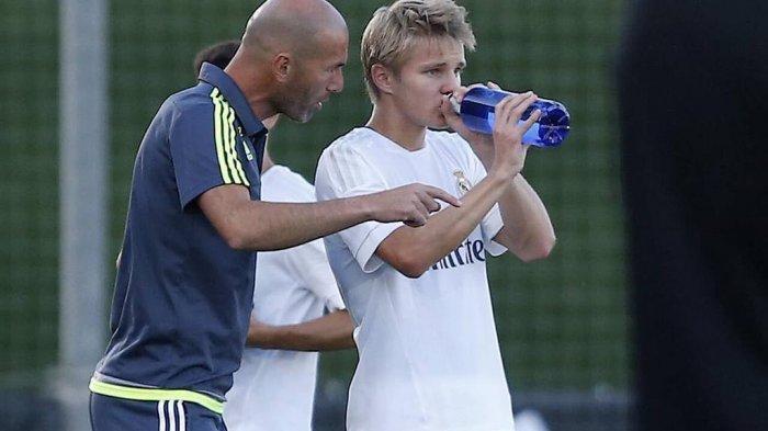 Martin Odegaard dan Zinedine Zidane